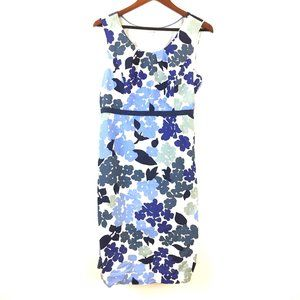 Boden classic watercolor floral cotton blue spring